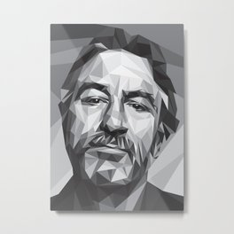 Robert De Niro Metal Print