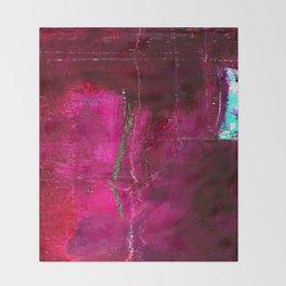 Into The Blue No.3e by Kathy Morton Stanion Throw Blanket