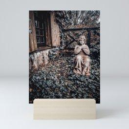 Angel sculpture Mini Art Print