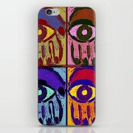 Pop Art Hamsas iPhone Skin
