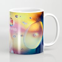 anaconda Mugs featuring don't let me fade by Sylvia Cook Photography