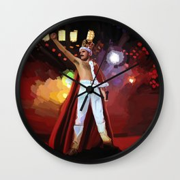 Hail to the Queen ♫♪ Wall Clock