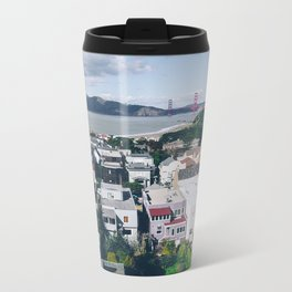 View of The City from above my Friends Apartment Metal Travel Mug
