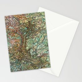 On the Wave of a Wind Stationery Cards