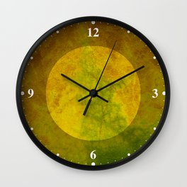 Nature color Wall Clock