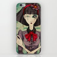 dragonfly iPhone & iPod Skins featuring Dragonfly by Beñat Olea