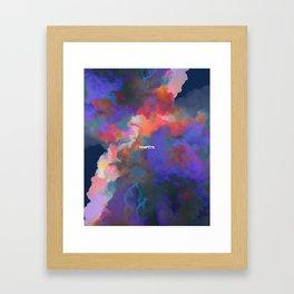 Tempête Framed Art Print