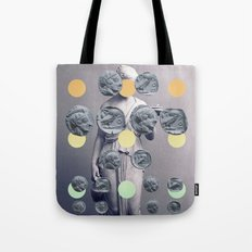 Statue With A Dot Gradient 1 Tote Bag