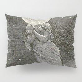 AROUND THE MOON - EMILE-ANTOINE BAYARD Pillow Sham