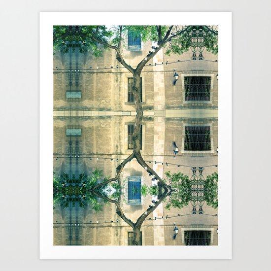 Thursday 1 November 2012: above, not beyond, reproach Art Print