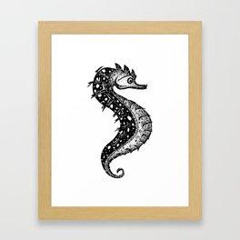 Hippocampus, little fella Framed Art Print