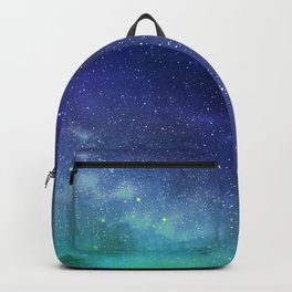 Turquoise Space Backpack