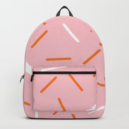 Pink Sprinkles Backpack