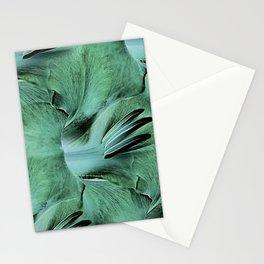 Gladioli Green Stationery Cards