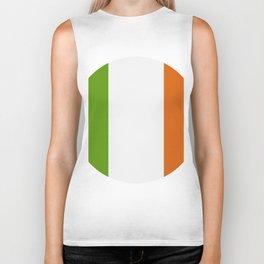 ireland flag Biker Tank