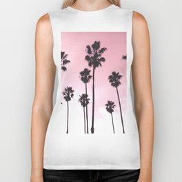 Palms & Sunset Biker Tank