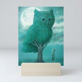 The Night Gardener - Cover Mini Art Print
