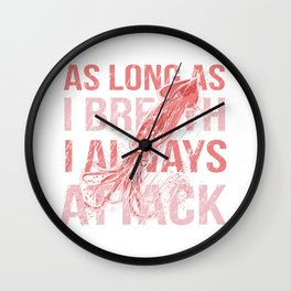 I Always Attack Wall Clock