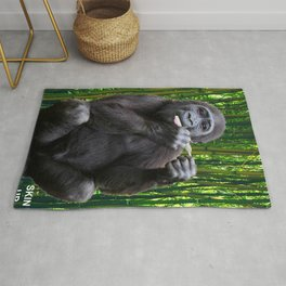 Skin-up Gorilla Rug