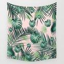 Tropical Jungle Leaves Garden #2 #tropical #decor #art #society6 by anitabellajantz