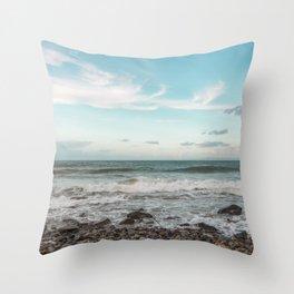 Relaxing sea Throw Pillow