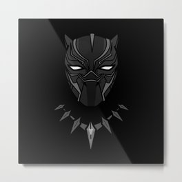 King of T'Chaka ( Black Panther ) Metal Print