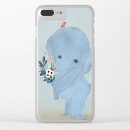 a little love Clear iPhone Case