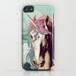 Unicorns live forever iPhone Case