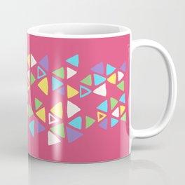 Contemporary Triangles Pattern Coffee Mug