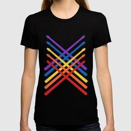 Retro Musician Drum Sticks T-shirt