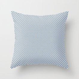 Riverside Polka Dots Throw Pillow