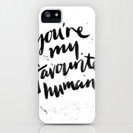 Favourite iPhone Case