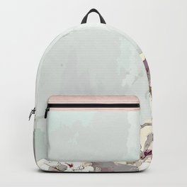 Orchid waterfall Backpack