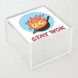 Stay Wok Acrylic Box