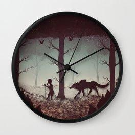 Wolf Parade Wall Clock