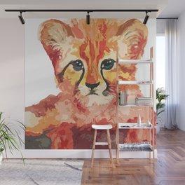 Leo the leopard cub Wall Mural