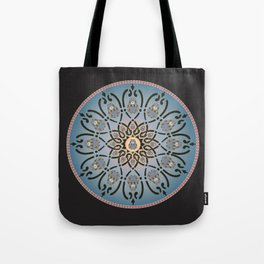 Russian-Bear in Mandara Tote Bag