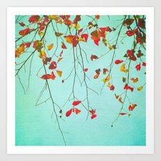 October Greetings Art Print