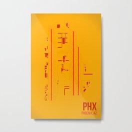 PHX Metal Print