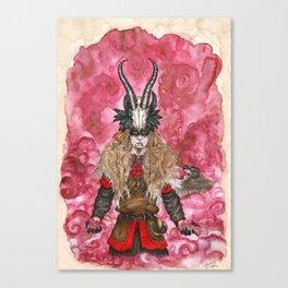 The trickster God Canvas Print