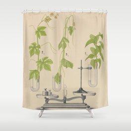 Antique Botany Shower Curtain