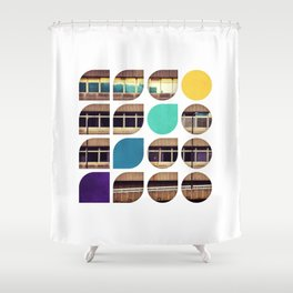 Cold Comfort Collage — Frontline Shower Curtain