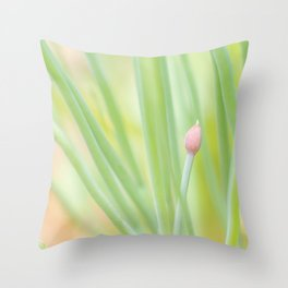 A Dream of Chives Throw Pillow