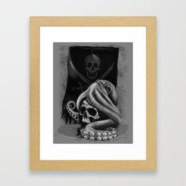 Pirate Tentacle Framed Art Print