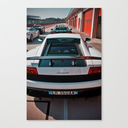 Lamborghini test drive Canvas Print