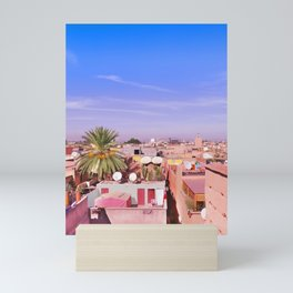 Marrakech Rooftop Mini Art Print
