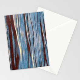 Dawn in the Winter Forest #impressionism #abstract #moods #society6 Stationery Cards