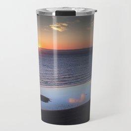 Rhossili Summer Solstice sunset 2018 Travel Mug