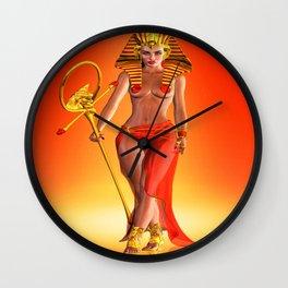 Pharaoh Queen Wall Clock