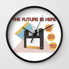 The future is here Wall Clock